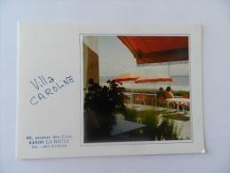 Dépliant  Villa Caroline  46 Avenue  Des  Lilas 44500 La Baule - La Baule-Escoublac