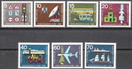 BRD 1965 MiNr.468 - 474  ** Postfr. Intern. Verkehrsausstellung IVA München ( 1865 ) - Unused Stamps