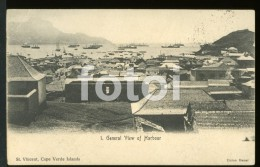 OLD POSTCARD SAO VICENTE CABO CAPE VERDE AFRICA  POSTAL CARTE POSTALE - Cap Vert