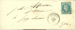 JURA  - MOLINGES - GROS CHIFFRES 2383 + TAD 22 - 1849-1876: Classic Period