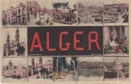 ALGER-  MULTI VUES  ( PAS COURANT) - Algiers