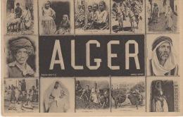 ALGER-  MULTI VUES  ( PAS COURANT) - Algerien