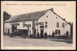 Baraque Fraiture - Café Restaurant Laurent Jacquet (détruit à La Libération) - Vieille Voiture - Oldtimer - Vielsalm