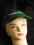 Casquette Publicitaire Heineken Bierre Couleur Verte Visière - Casquettes & Bobs