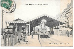NANTES - La Gare De La Bourse - TRAIN - Nantes