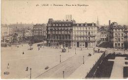 93 -   LILLE -Panorama - Place De La République - Lille