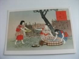 Costumi Giapponesi Japan Donne Miyagawa Mizu Asobi Wasserspiele - Costumi