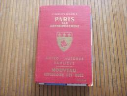 L'indispensable Paris Par Arrondissement : Métro-autobus-banlieue Répertoire Rues+plan 1979 RATP Métro RER Autobus Paris - Europe