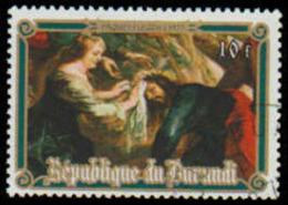 Burundi Scott #507, 10fr Multicolored (1977) Paintings By Rubens, Cto/Never Hinged - Burundi