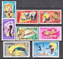 NIGERIA 184+   *  (o)   FAUNA  AFRICAN  ANIMALS - Nigeria (1961-...)