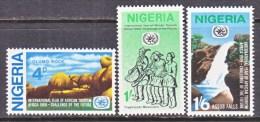 NIGERIA 232-4  *  TOURISM - Nigeria (1961-...)