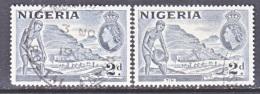 NIGERIA  93  TYPE  I  And  II   (o) - Nigeria (...-1960)