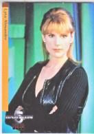 BABYLON 5   LYTA  ALEXANDER   SEE  AUTOGRAPHS  FOR  PHOTO    WARNER  BROS.  1998 - Babylon 5