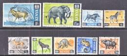 KENYA  20+   (o)   FAUNA  AFRICAN  ANIMALS - Kenya (1963-...)