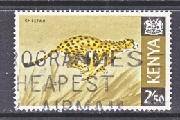 KENYA  32   (o)   FAUNA  AFRICAN  ANIMALS  CHEETAH - Kenya (1963-...)