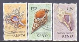 KENYA  45-7   (o)   SEASHELL - Kenya (1963-...)