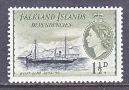FAKLAND  ISLANDS  1L 21  *   ICE  SHIP - Falkland Islands