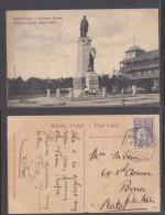 Mozambique: Antonio Ennes Monument, Used 1914,  Lourenco Marques To Durban, S.Africa - Mozambique