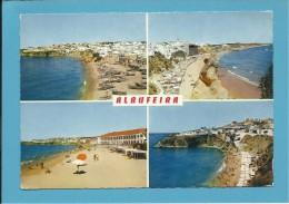 ALBUFEIRA - 4 VISTAS Da PRAIA - Algarve - Portugal - 2 SCANS - Faro