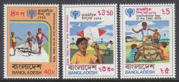 BANGLADESH, 1979 INT YEAR CHILD 3 MNH - Bangladesh