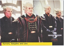 BABYLON 5   RUNORS,  BARGAINS  AND  LIES     WARNER  BROS.  1998 - Babylon 5