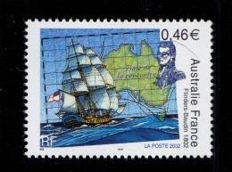 FRANCE 2002-un Timbre (1) YT N° 3476** Bicentenaire De La Rencontre Des Navigateurs  Nicolas Baudin Et Matthew Flinders - Nuevos