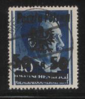 POLAND 1944 NIEZABITOW LOCAL POST OVERPRINT ISSUE 50GR ON 40GR HITLER USED EXPERTISED MISZCZAK - Otros