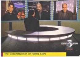 BABYLON 5   THE  DECONSTRUCTION  OF  FALLING  STARS     WARNER  BROS.  1998 - Babylon 5