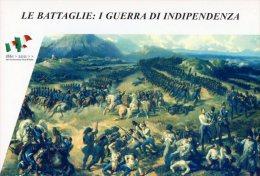 [DC1401] CARTOLINEA - SERIE LE BATTAGLIE: I° GUERRA DI INDIPENDENZA - CARICA DEI CARABINIERI A PASTRENGO (1) - Storia