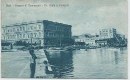 BA049 - BARI - F.P. VIAGGIATA 1912 - CAMERA DI COMMERCIO - RR. POSTE E TELEGRAFI - Bari
