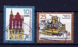 DDR Nr.2403/4      O  Used   (15906) (Jahr:1979) - DDR