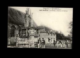 29 - ERGUE-GABERIC - Calvaire - Jeux De Boules - Ergué-Gabéric
