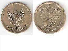 Indonesia 100 Rupiah 1996  Km 53    Unc !!! - Indonesia