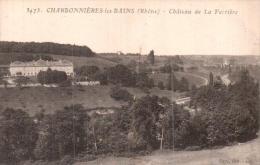 69 CHARBONNIERES LES BAINS CHATEAU DE LA FERRIERE - Charbonniere Les Bains