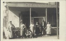 Carte Photo - Commerce - Café LA FRATERNELLE - A Identifier - Negozi