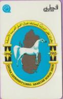 Qatar  42  °=°   20 QR  -   International  Arabian  Horse  Show  1996   °=°   T B E - Qatar