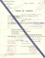 ORDRE MISSION BEYROUTH LIBAN 1945 GOUVERNEMENT PROVISOIRE AFFAIRES ETRANGERES