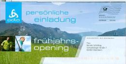 BRD Mannheim Infopost Allemagne FRW 2011 Engelhorn Sports Odlo Läufer - Textil