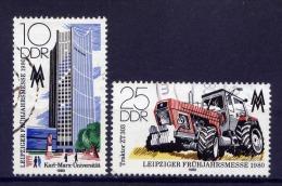 DDR Nr.2498/9      O  Used   (15963) (Jahr:1980) - Gebraucht