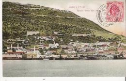 GIBRALTAR SOUTH FROM THE NEW MOLE 1908 - Gibraltar