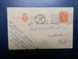 41/951  CP   POUR LA BELG.  1945 - Entiers Postaux