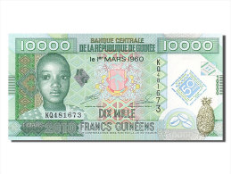 [#255186] Guinée, 10 000 Francs, Type 2010 - Guinea