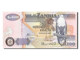 Zambie, 100 Kwacha, Type 1992-1996 - Zambie