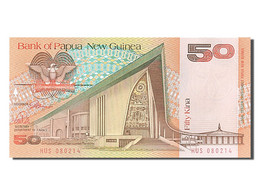 Papouasie-Nouvelle-Guinée, 50 Kina, Type M. Somare - Papua New Guinea