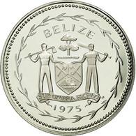 Monnaie, Belize, 25 Cents, 1975, FDC, Argent, KM:49a - Belize