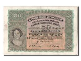 [#303565] Suisse, 50 Francs Type 1921-28 - Switzerland