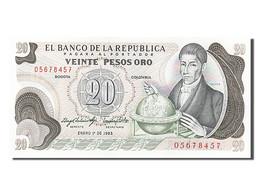 [#255191] Colombie, 20 Pesos Oro, Type Musée Del Oro - Colombie