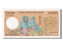 [#303557] Comores, 10 000 Francs Type 1997 - Comores