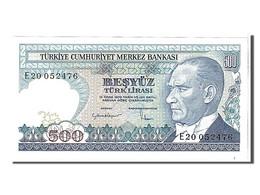 Turquie, 500 Lira Type Président Kamel Ataturk - Turquia