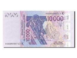 [#255272] Afrique De L'Ouest, 10 000 Francs, Type 2003 - Banconote
